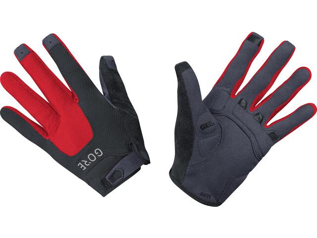 GORE WEAR C5 Trail Gloves black/red
